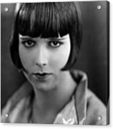Louise Brooks, Late 1920s Acrylic Print by Everett
