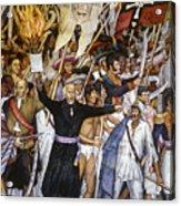 Mexico: 1810 Revolution Acrylic Print by Granger