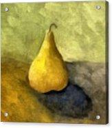 Pear Still Life Acrylic Print by Michelle Calkins