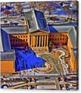 Philadelphia Museum Of Art 26th Street And Benjamin Franklin Parkway Philadelphia Pennsylvania 19130 Acrylic Print by Duncan Pearson