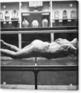 Pompeii: Plaster Cast Acrylic Print by Granger