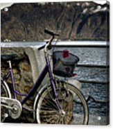 Retro Bike Acrylic Print by Joana Kruse