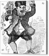 Santa Claus, 1849 Acrylic Print by Granger