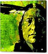 Scabby Bull Acrylic Print by Paul Sachtleben