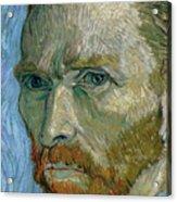 Self-portrait Acrylic Print by Vincent Van Gogh