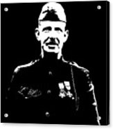 Sergeant Alvin York Acrylic Print by War Is Hell Store