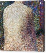 Seurat: Model, C1887 Acrylic Print by Granger