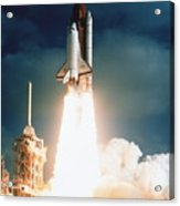Space Shuttle Launch Acrylic Print by NASA / Science Source