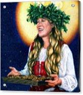St. Lucia Acrylic Print by Joanna Powell Colbert
