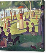 Sunday Afternoon On The Island Of La Grande Jatte Acrylic Print by Georges Pierre Seurat