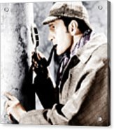 The Adventures Of Sherlock Holmes Acrylic Print by Everett