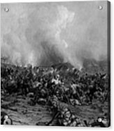The Battle Of Gettysburg Acrylic Print by War Is Hell Store