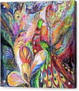 The King Bird Acrylic Print by Elena Kotliarker