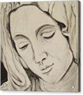 The Madonna Acrylic Print by Jean Billsdon