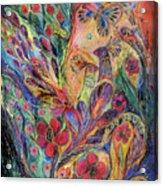 The Olive Tree Acrylic Print by Elena Kotliarker