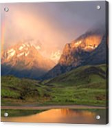 Torres Del Paine - Patagonia Acrylic Print by Carl Amoth
