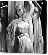 Veronica Lake, Paramount Pictures Acrylic Print by Everett