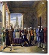 Washington: Inauguration Acrylic Print by Granger