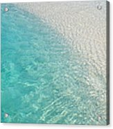 Water Meditation I. Five Elements. Healing With Feng Shui And Color Therapy In Interior Design Acrylic Print by Jenny Rainbow