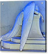 Weeping Angel Acrylic Print by Ellis C Baldwin
