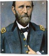 Ulysses S. Grant (1822-1885) Acrylic Print by Granger