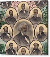 1883 Print Commemorating Acrylic Print by Everett