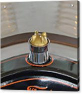 1924 Ford Model T Roadster Hood Ornament Acrylic Print by Jill Reger