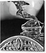 1931 Packard Convertible Victoria Hood Ornament 2 Acrylic Print by Jill Reger