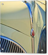 1941 Lincoln Continental Cabriolet V12 Grille Acrylic Print by Jill Reger