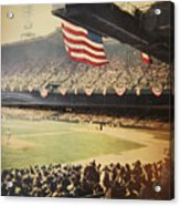 1950 Phillies Vs Yankees World Series Guide Acrylic Print by Bill Cannon