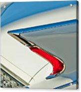 1960 Cadillac Eldorado Biarritz Convertible Taillight Acrylic Print by Jill Reger