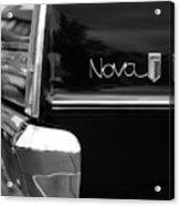 1966 Chevy Nova II Acrylic Print by Gordon Dean II