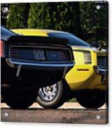 1970 Plymouth 'cuda 440 And Hemi Acrylic Print by Gordon Dean II