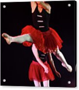 Ballet Performance  Acrylic Print by Chen Leopold