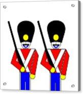 2 Guardsmen Acrylic Print by Asbjorn Lonvig