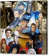 Nashville Honky Tonk Acrylic Print by Barbara Teller