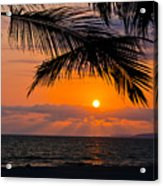 Nuevo Vallarta Sunset Acrylic Print by About Light  Images