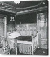 Parlour Suite Of Titanic Ship Acrylic Print by Photo Researchers