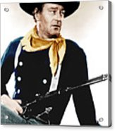 The Searchers, John Wayne, 1956 Acrylic Print by Everett
