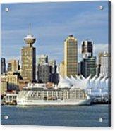 Vancouver Skyline Acrylic Print by John Greim