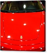2006 Ferrari F430 Spider . 7d9383 Acrylic Print by Wingsdomain Art and Photography