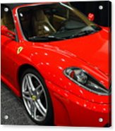 2006 Ferrari F430 Spider . 7d9385 Acrylic Print by Wingsdomain Art and Photography