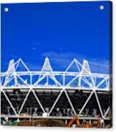 2012 Olympics London Acrylic Print by David French