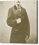 John Wilkes Booth, American Assassin Acrylic Print by Photo Researchers