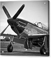 P 51 Mustang Acrylic Print by Eric Miller