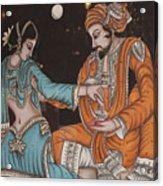 Rubaiyat Of Omar Khayyam Acrylic Print by Carl Purcell