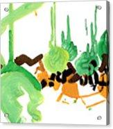 Stylish Acrylic Print by Natoly Art