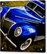 39 Ford V8 Coupe Acrylic Print by Phil 'motography' Clark