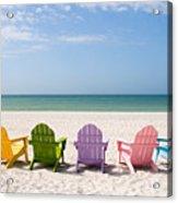 Florida Sanibel Island Summer Vacation Beach Acrylic Print by ELITE IMAGE photography By Chad McDermott