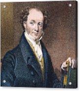 Martin Van Buren (1782-1862) Acrylic Print by Granger